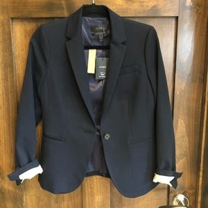 JCrew stretch cotton blazer
